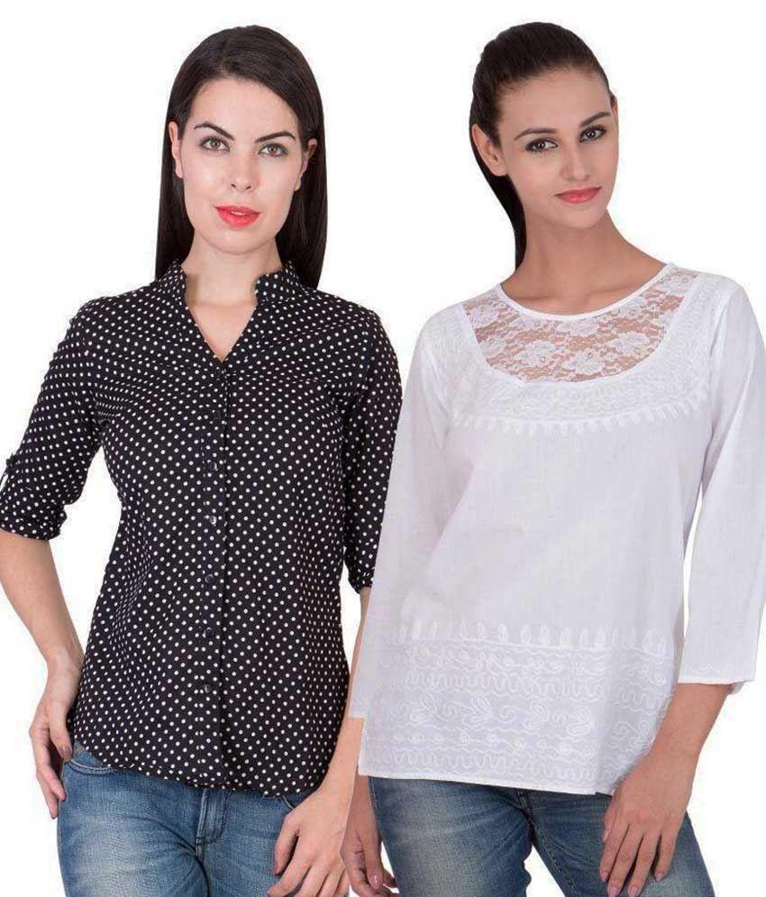 American-Elm Multi Color Cotton Shirt