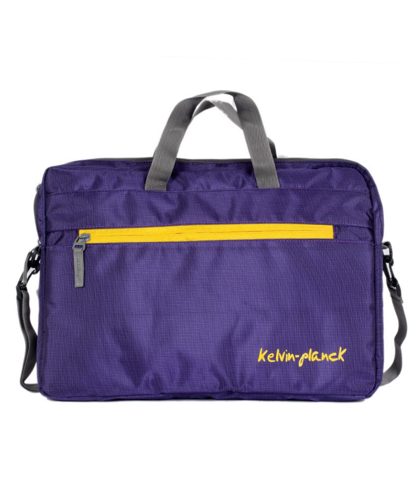 Kelvin Planck Purple Laptop Sleeves