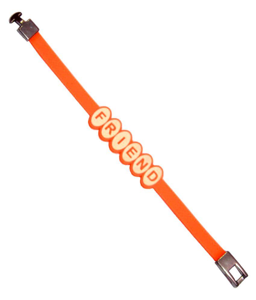 Men Style Orange Alloy Bracelet for Men