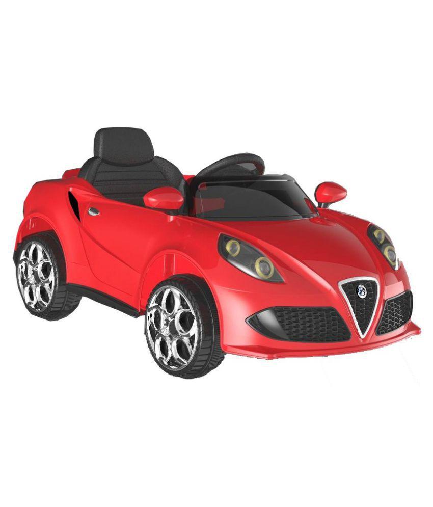 Baybee Bugatti Veyron Ride on Sports Car with R/C (Red) - Buy Baybee Bugatti Veyron Ride on ...
