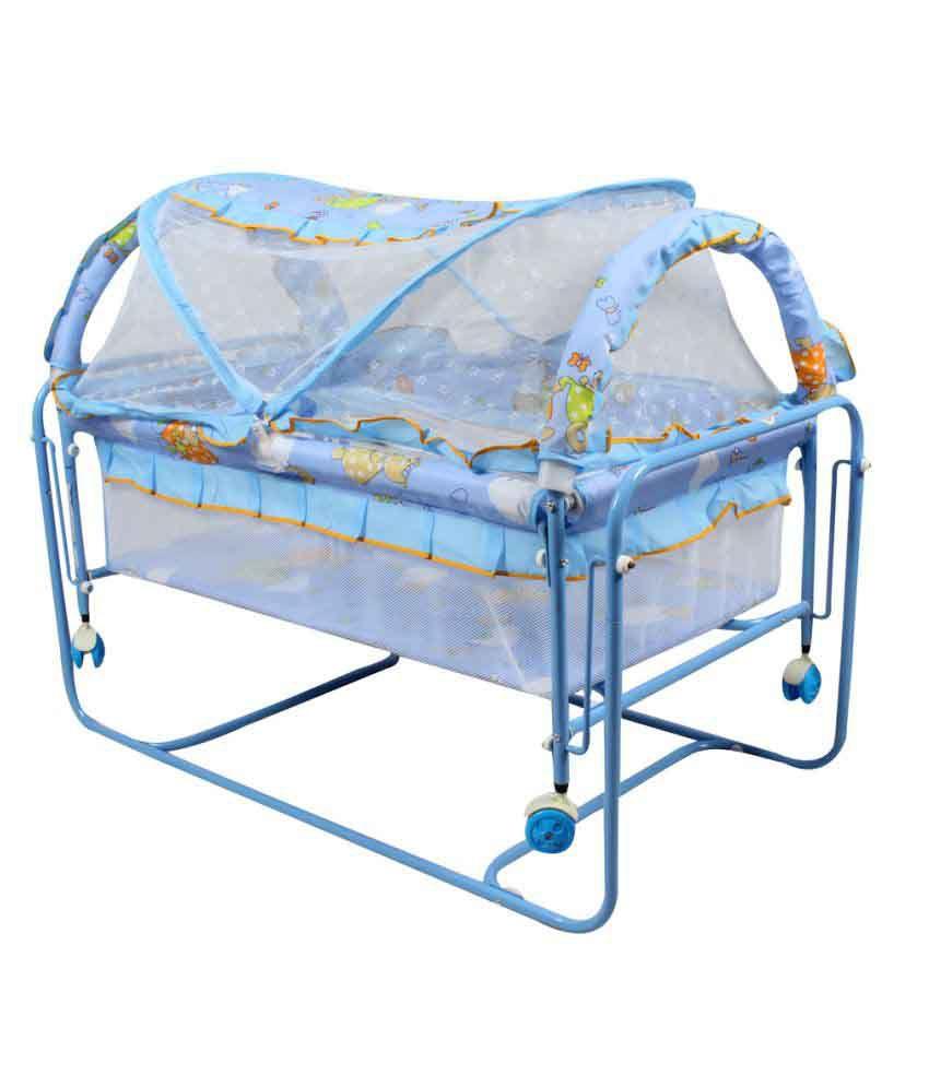 Baybee Cocoon Swing Cradle Blue