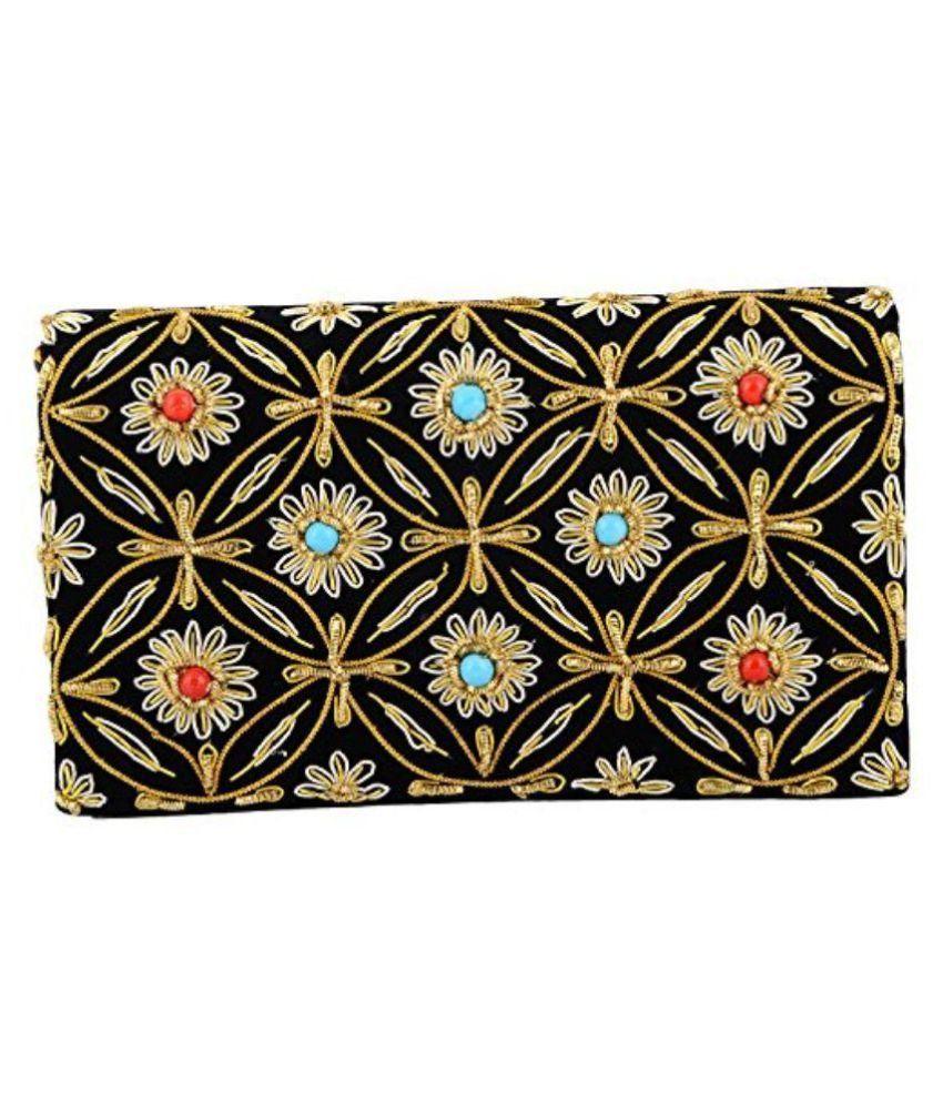 Duchess Multi Fabric Box Clutch