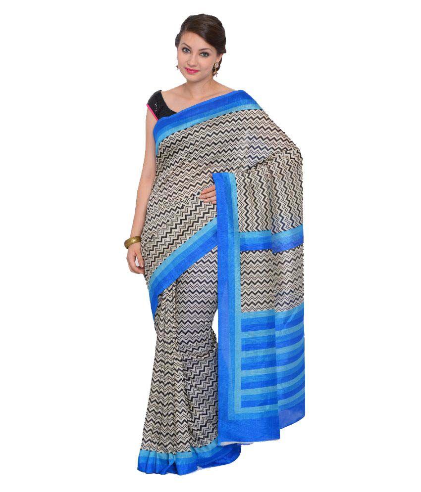 Vastrangi Multicoloured Cotton Saree
