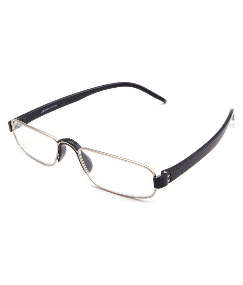 308c2ccd9f4 Lexicon Black Rectangle Spectacle Frame Lexicon-Adron-XH746-1-Black-C1 -  Buy Lexicon Black Rectangle Spectacle Frame Lexicon-Adron-XH746-1-Black-C1  Online ...