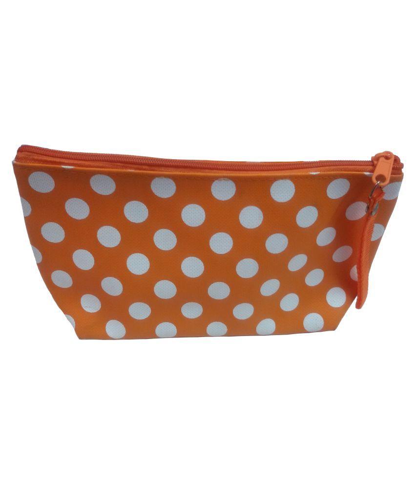 Viva Fashions Orange Vanity Kit and pouches - 1 Pc