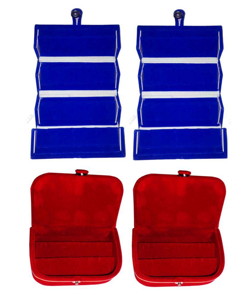 Abhinidi Multicolour Jewelley Box - Set of 4