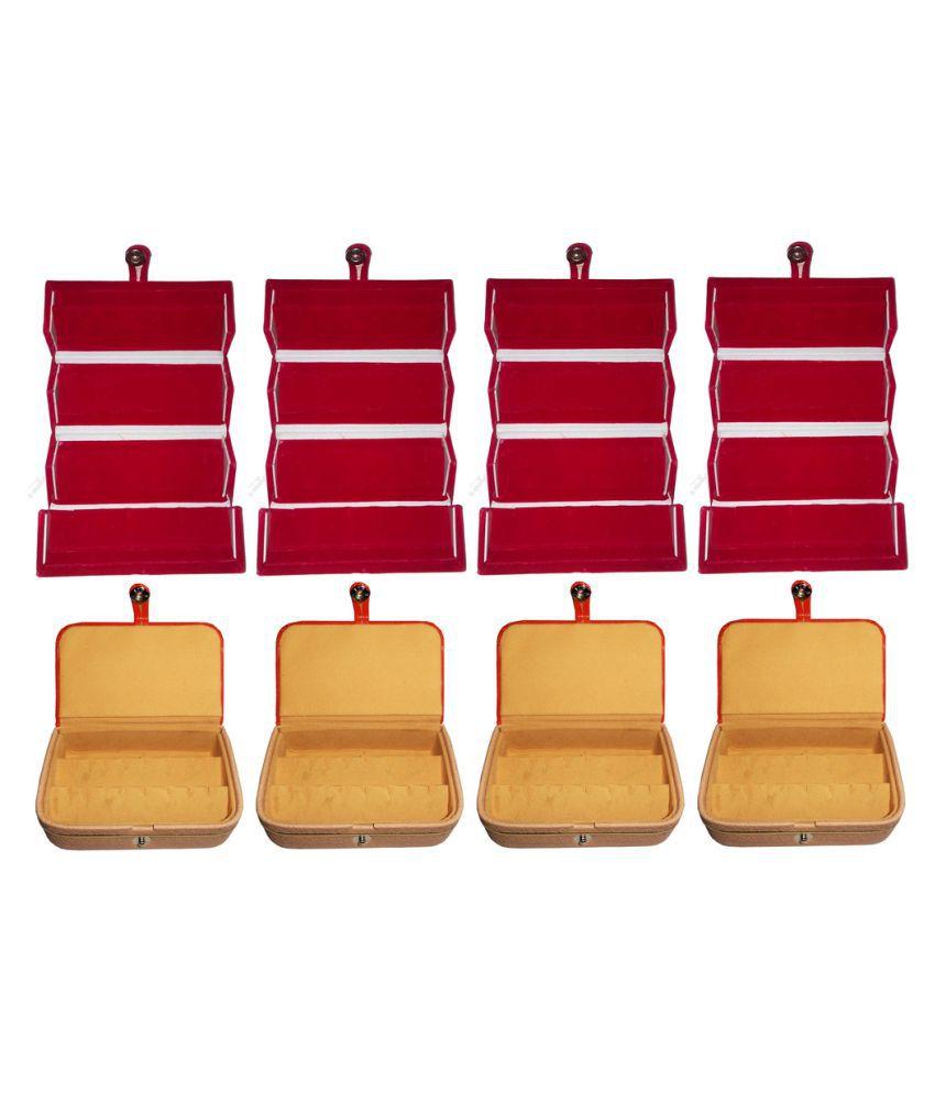 Abhinidi Multicolour Jewelley Box - Set of 8