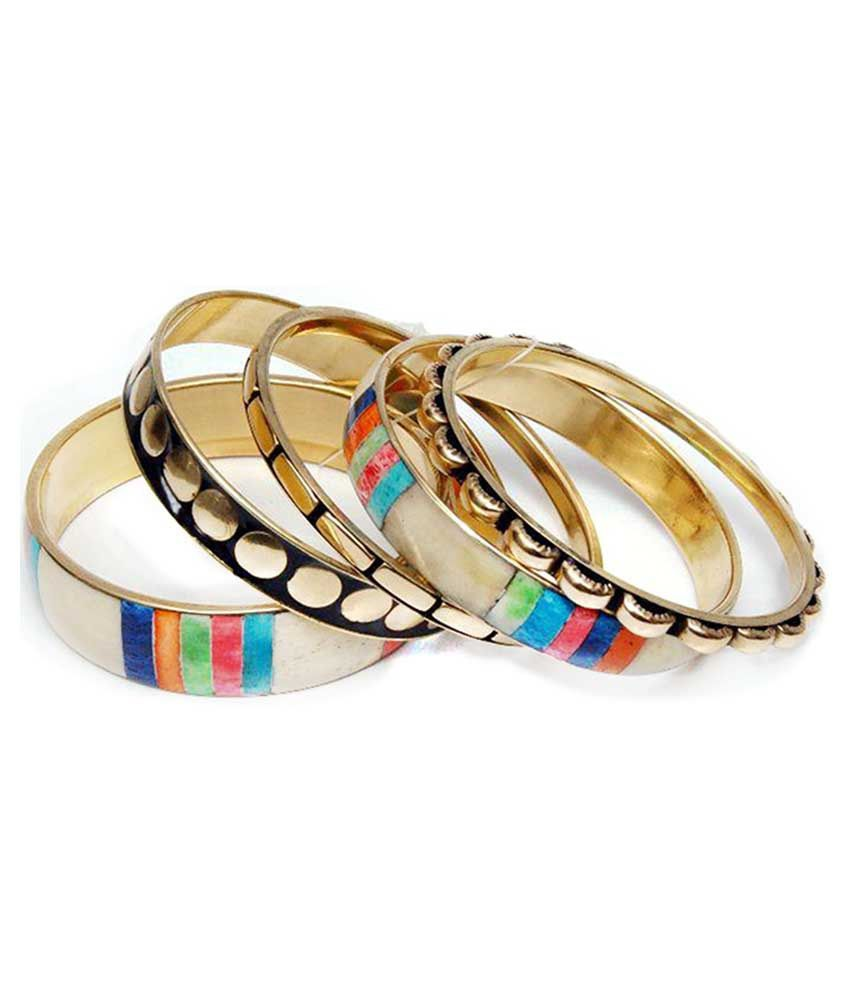 MHS Multicolour Bangle Set