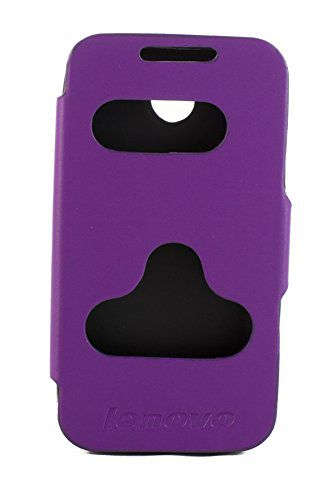 Lenovo A390 Flip Cover by Video Tronix   Purple available at SnapDeal for Rs.448