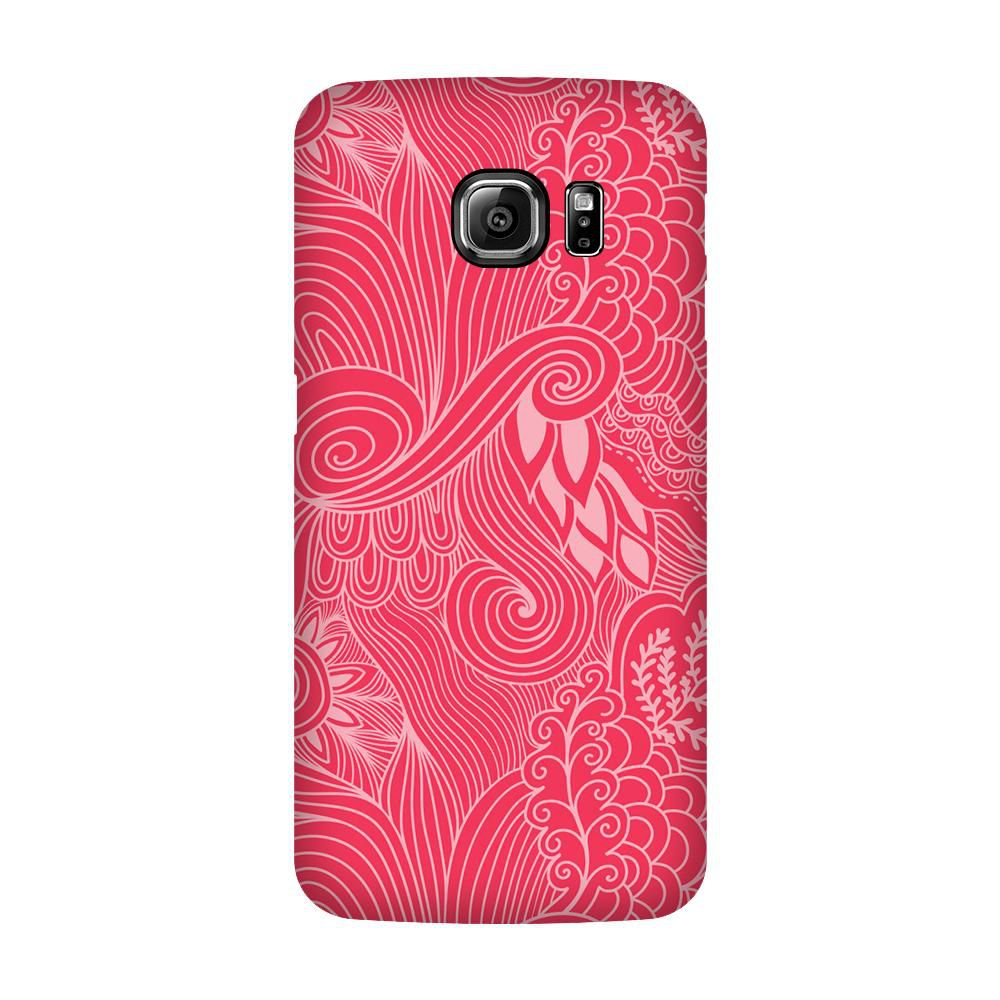 Samsung Galaxy S6 Edge Printed Cover By Armourshield