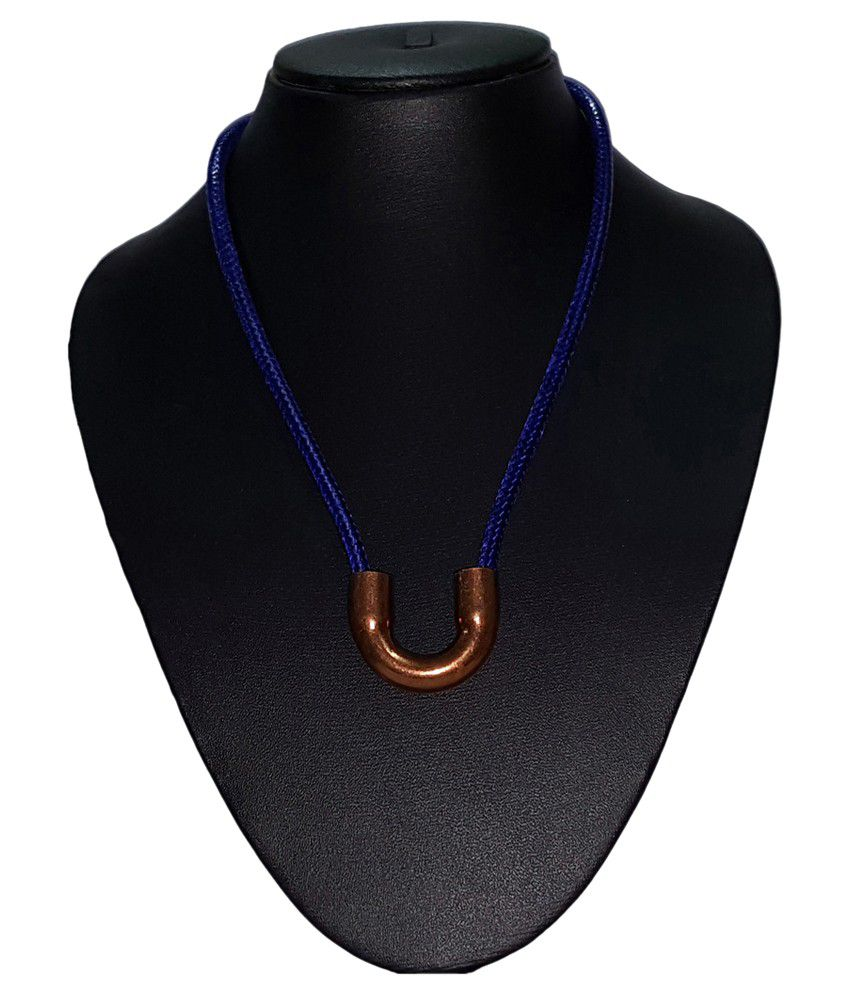 IM Blue Necklace with Pendant