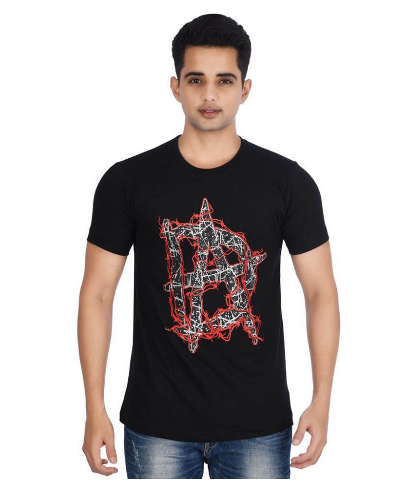 WWEF Black Round T-Shirt