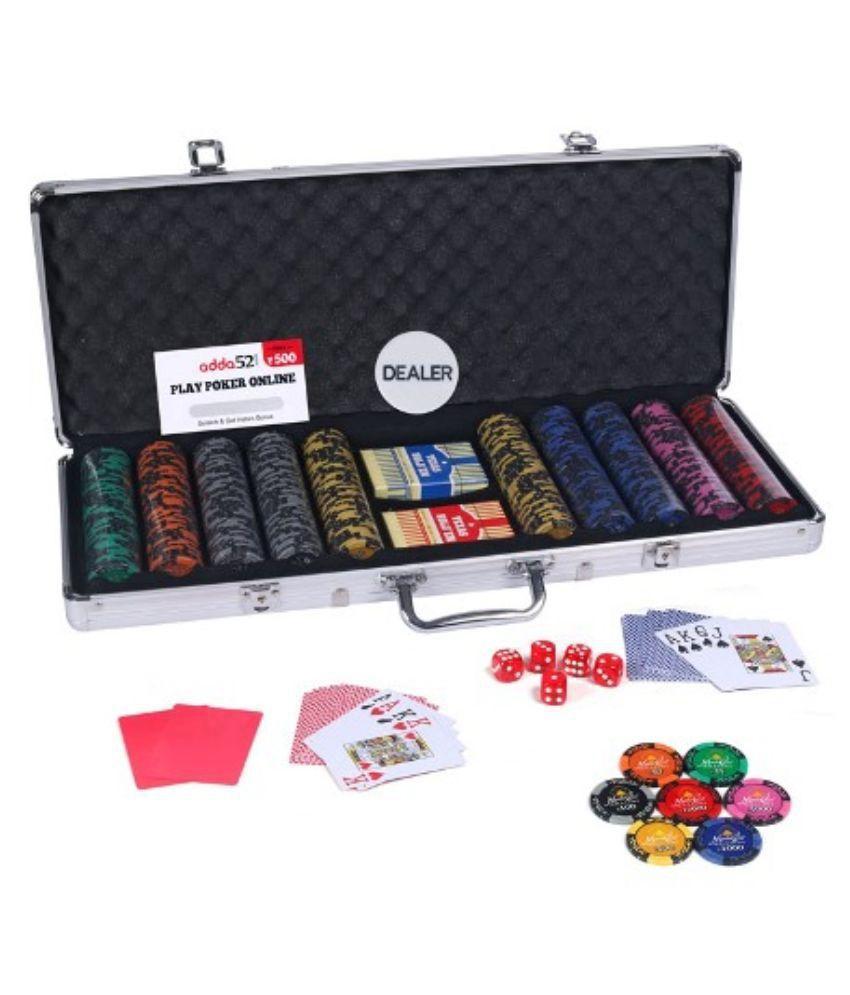 Casinoite Monte Carlo Dark Millions Clay Pro Poker Chip Set 500 Toy