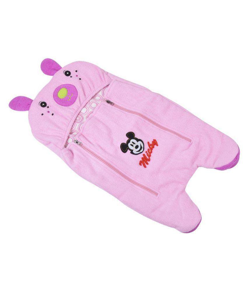 Chhote Janab Pink Cotton Sleepin Bag