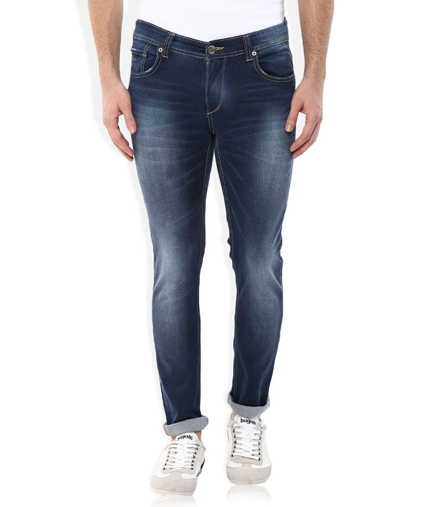 Spykar Blue Low Rise Super Skinny Fit Jeans