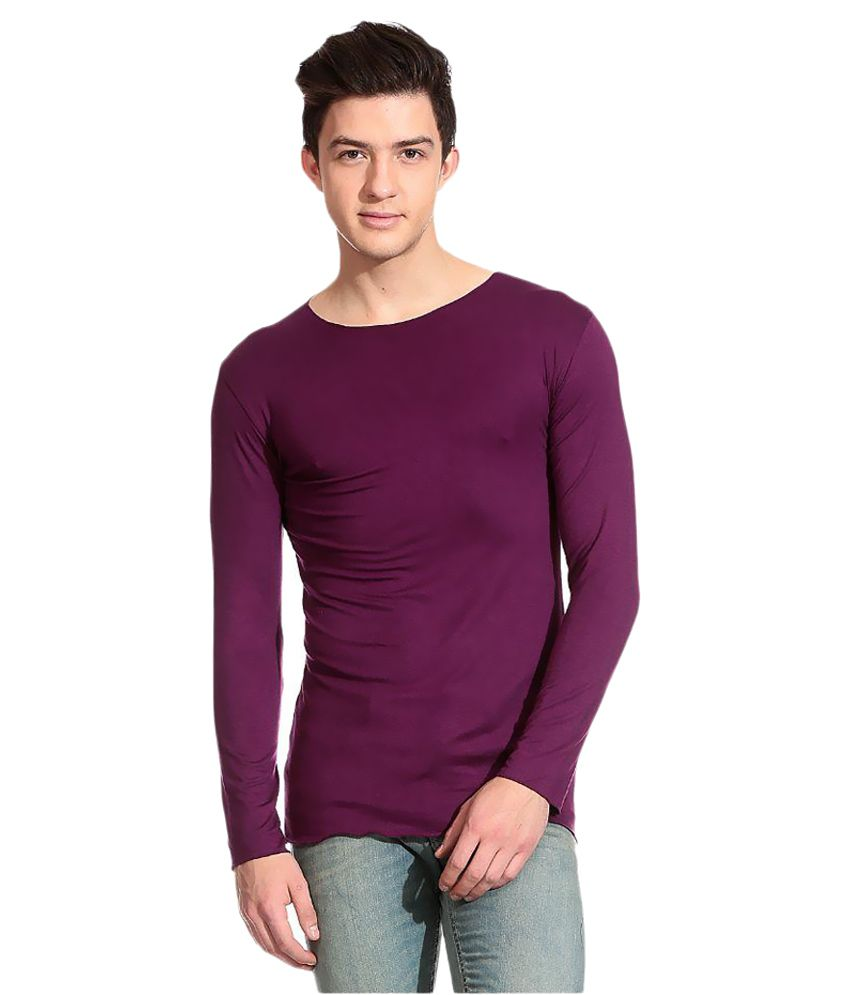 Tinted Purple Round T-Shirt