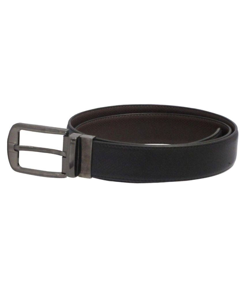 Rotomax Black PU Formal Belts