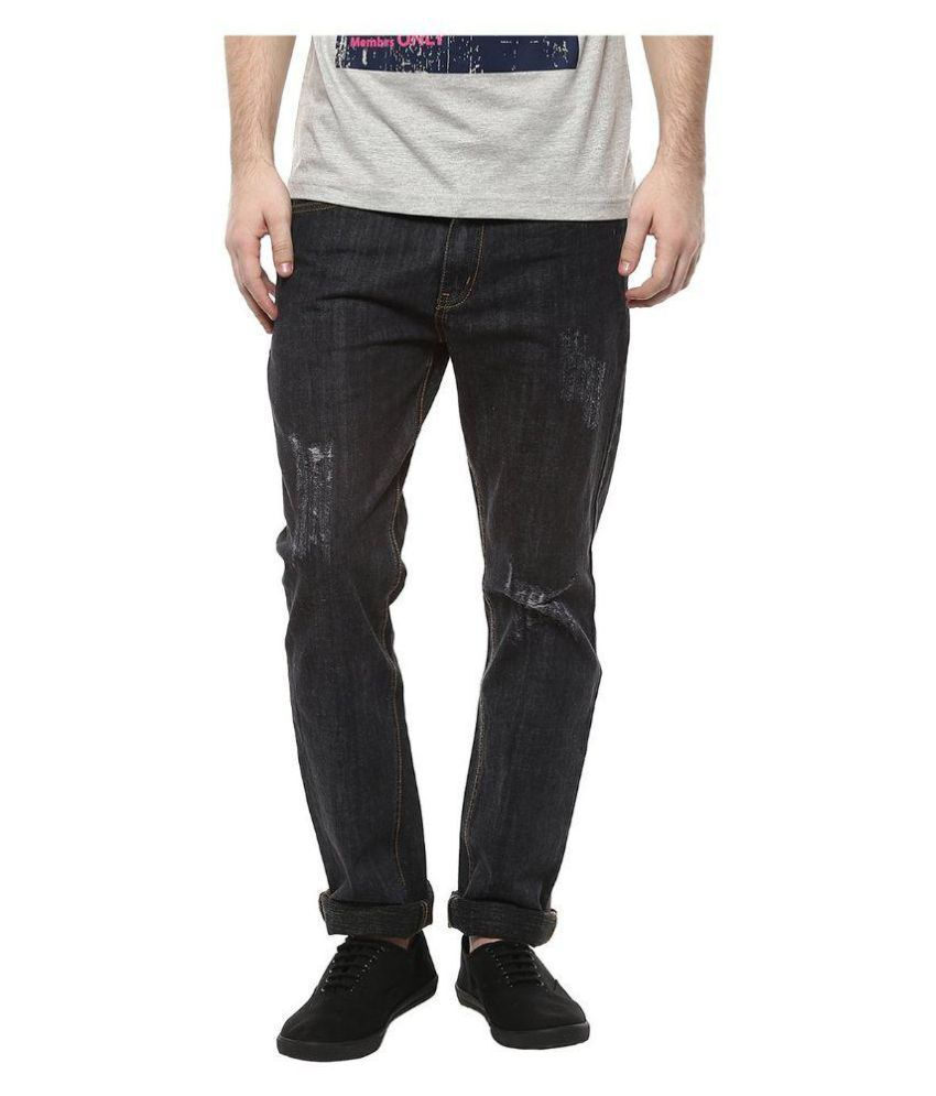 Kingsburry Black Straight Washed