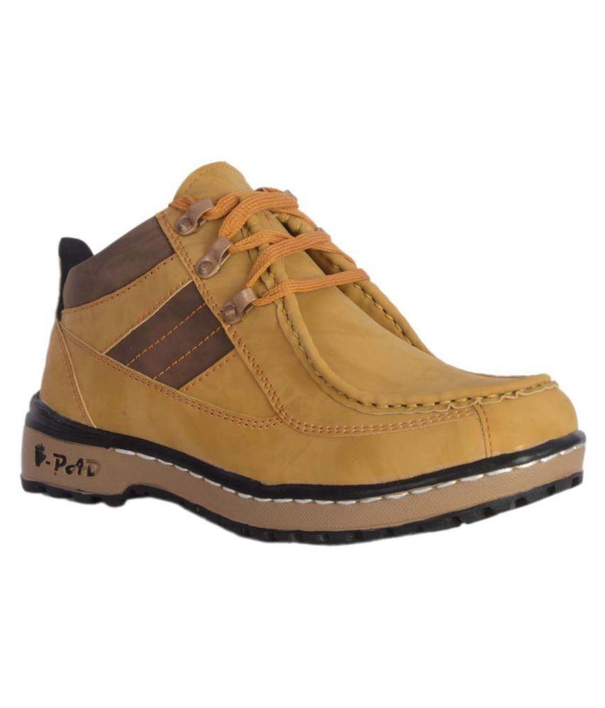 Kingson Tan Casual Boot