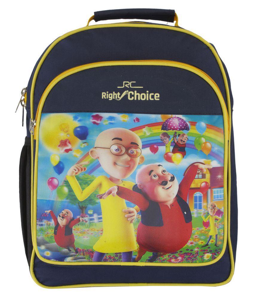 Right Choice Multicolour School Bag