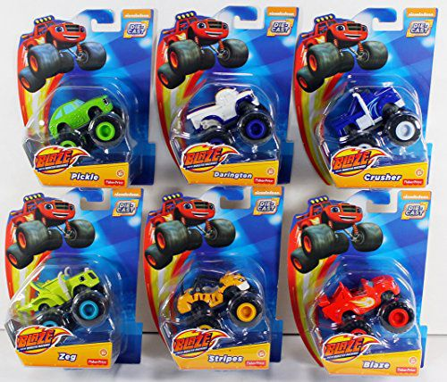 Fisher Price Nickelodeon Blaze And The Monster Machines Blaze