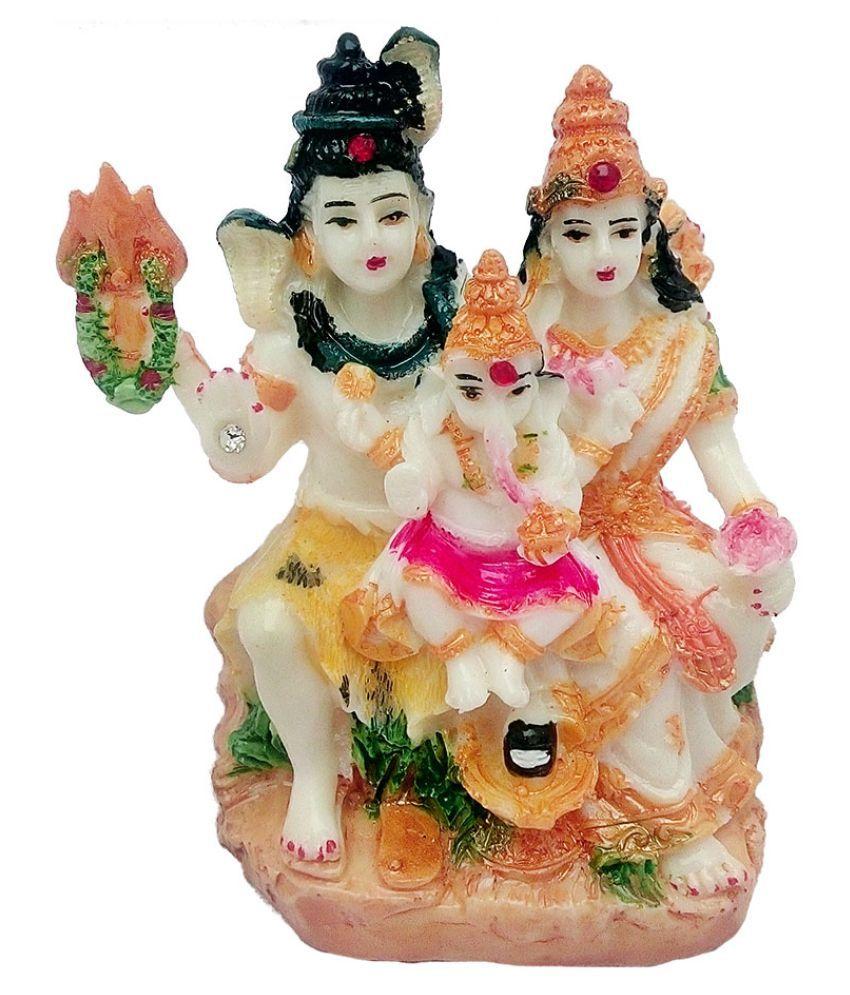 Art N Hub Shiva Earthenware Idol