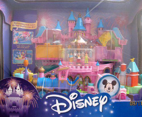 Disney Magical Miniatures MAGIC KINGDOM CASTLE Playset w