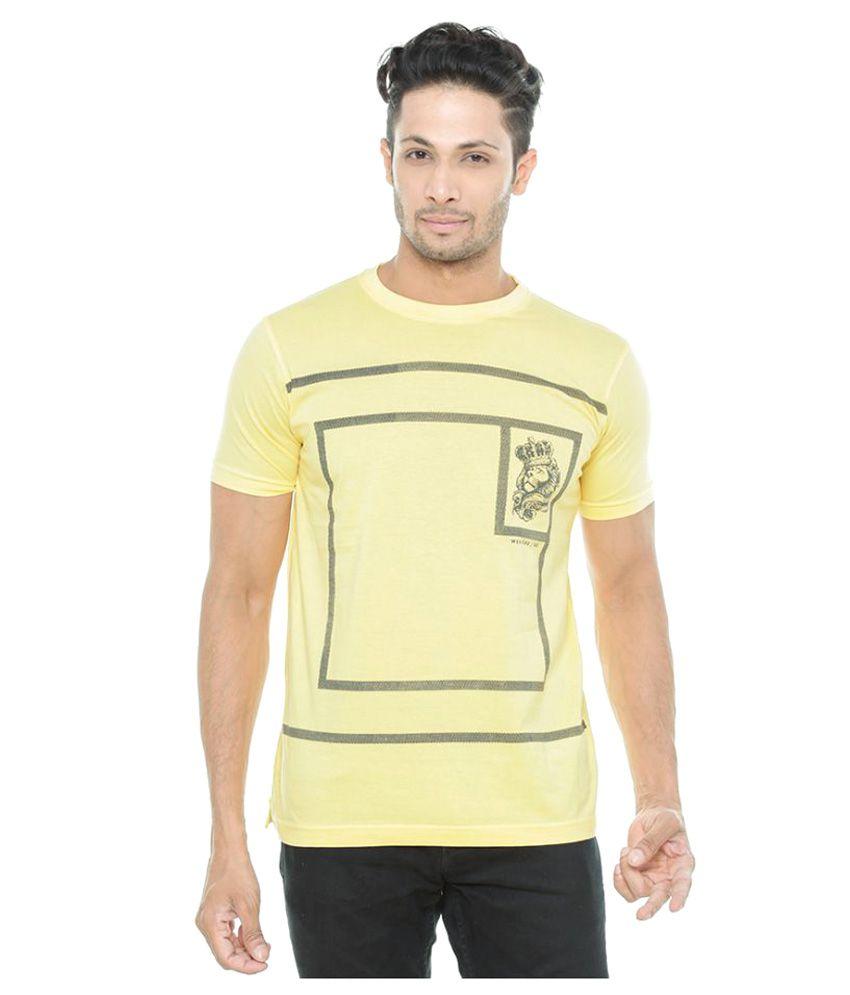 Wexford Yellow Round T-Shirt