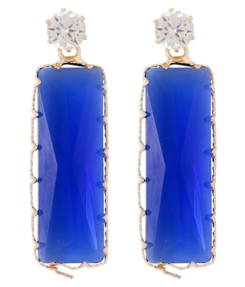 Voylla Blue Earrings