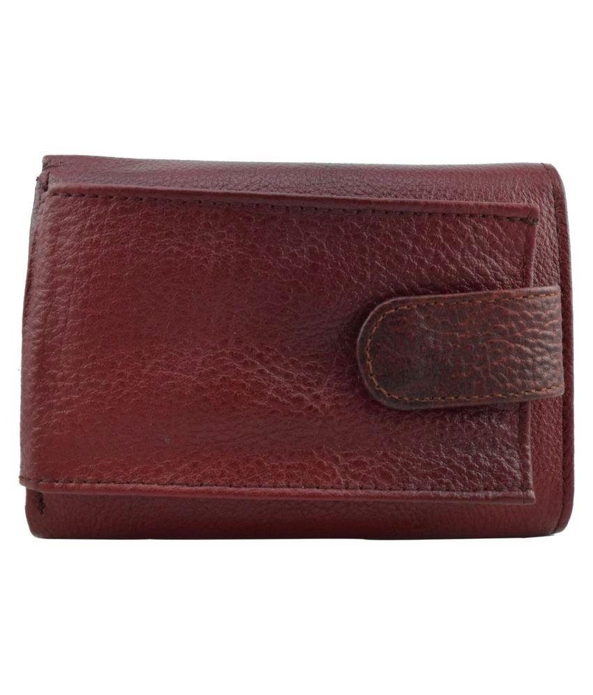 Moochies Maroon Wallet