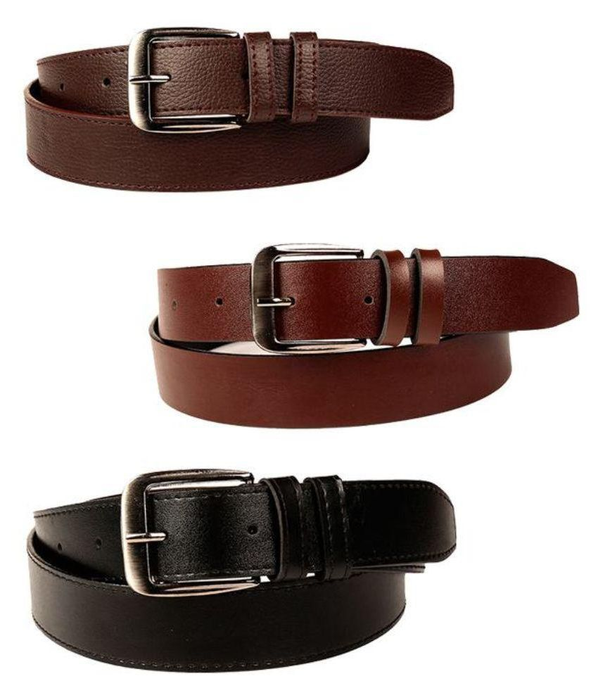 Master Club Multi Faux Leather Formal Belts