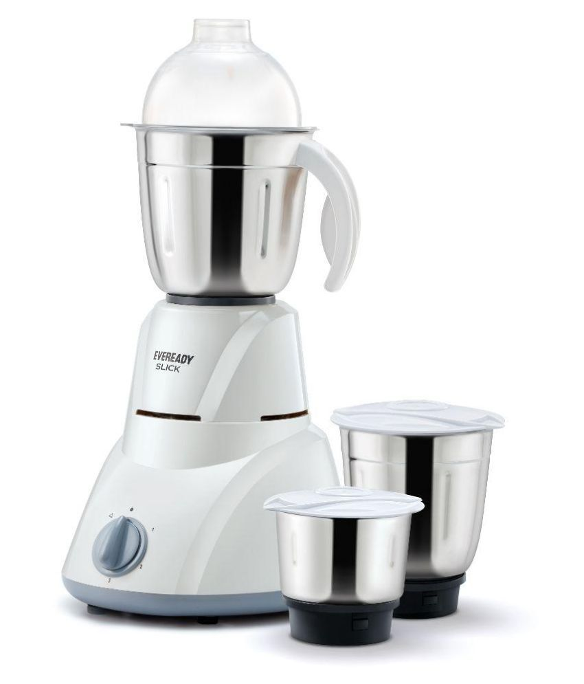 Eveready SLICK500W 500 W 3 Jar Mixer Grinder