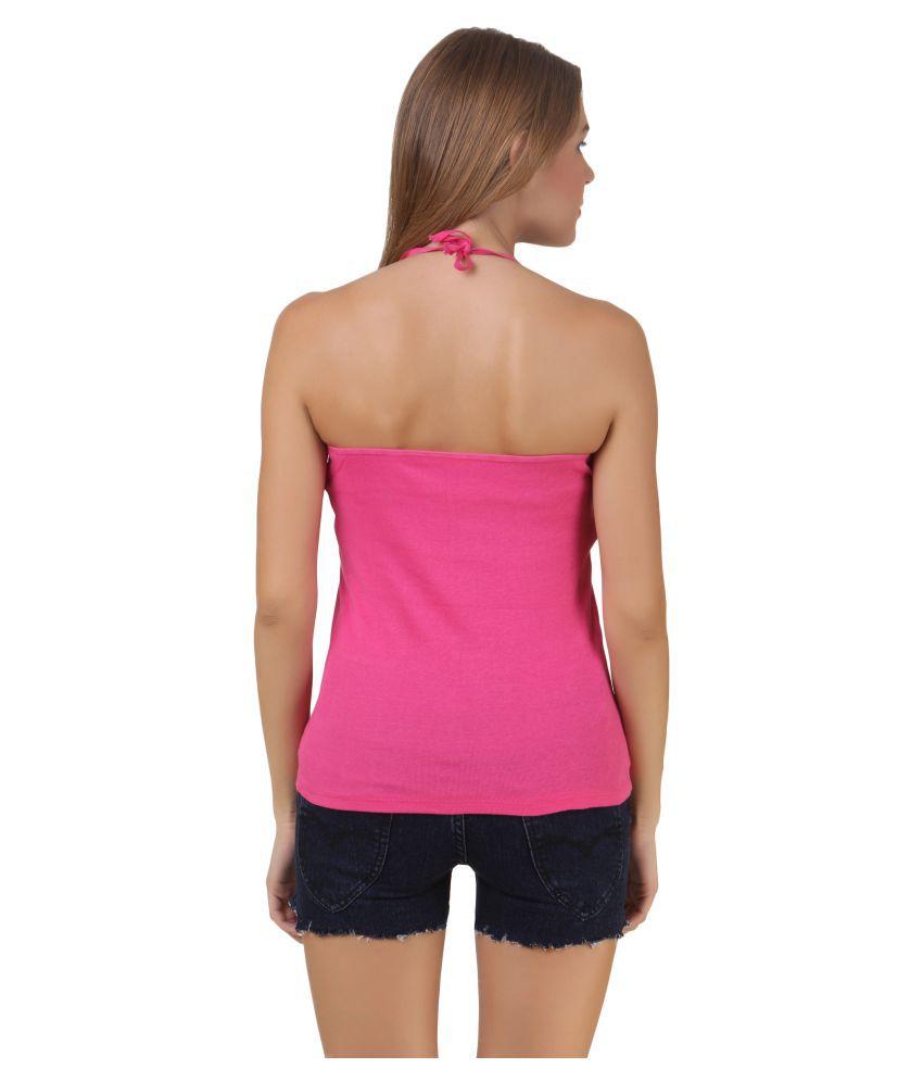 Pack Of 3 Q-rious Womens Cotton Lycra Halter Slip