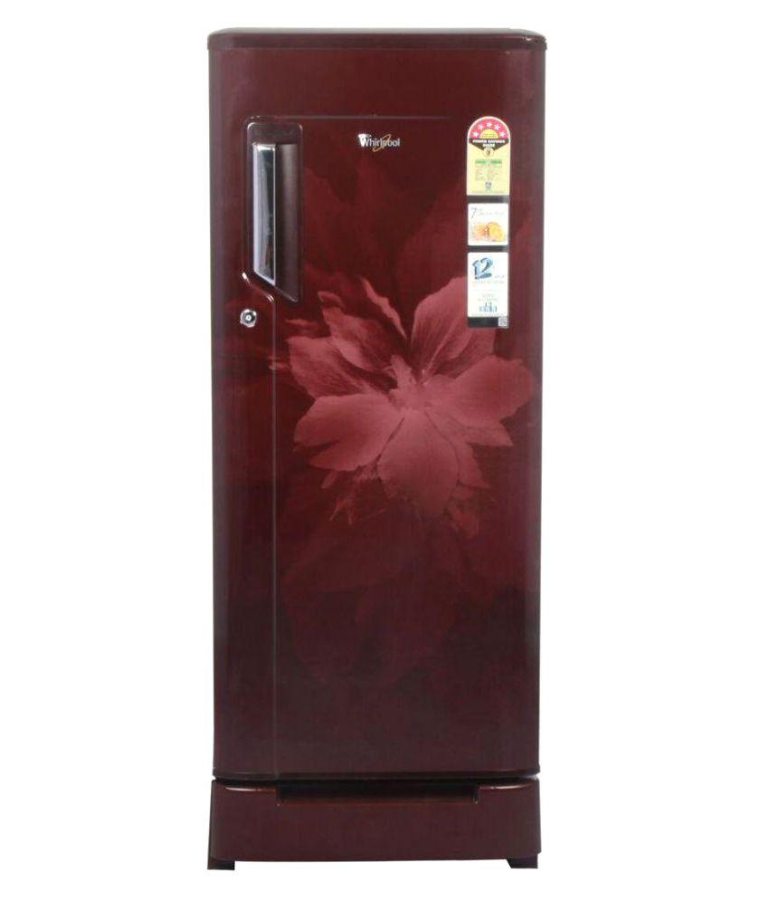Wine Refrigerator Reviews >> Whirlpool 200 Ltr 5 Star 215 Imfresh Roy 5S Single Door Refrigerator - Wine Regalia Price in ...
