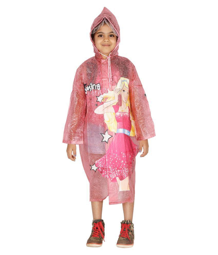 Zeel Pink Polyester Coats