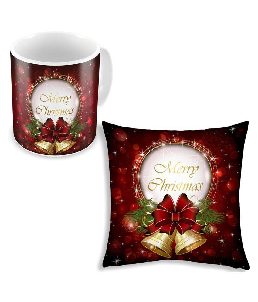 Shilpbazaar Single Satin Cushion Covers