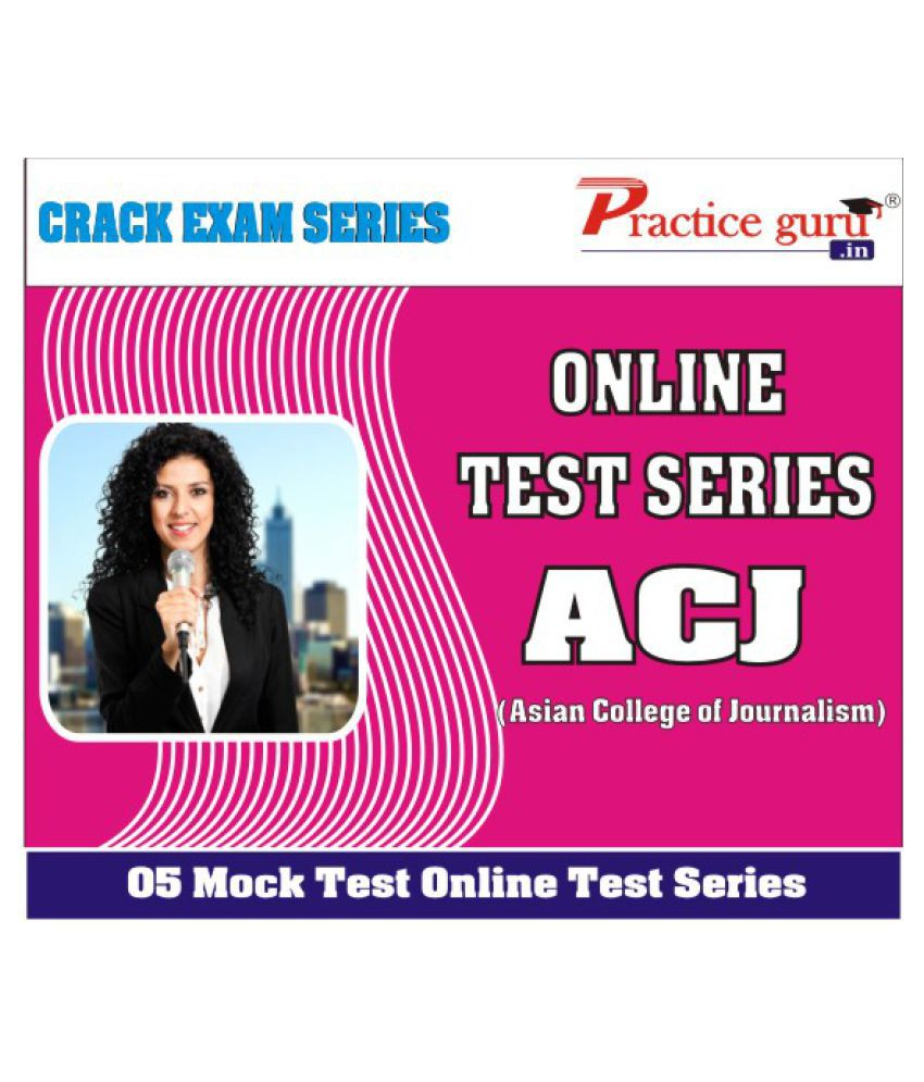 5 Online (Full Course) Mock Tests for ACJ Online Study Material
