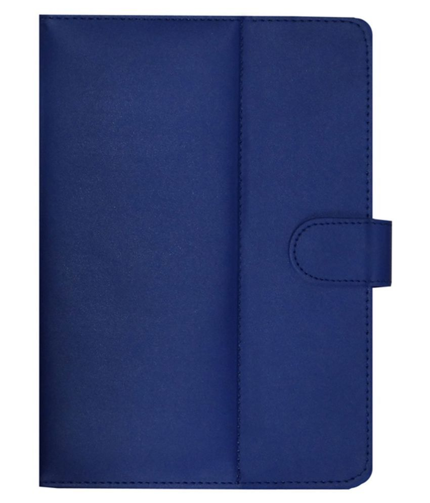 Baslate 10Qi Flip Cover By ACM Blue