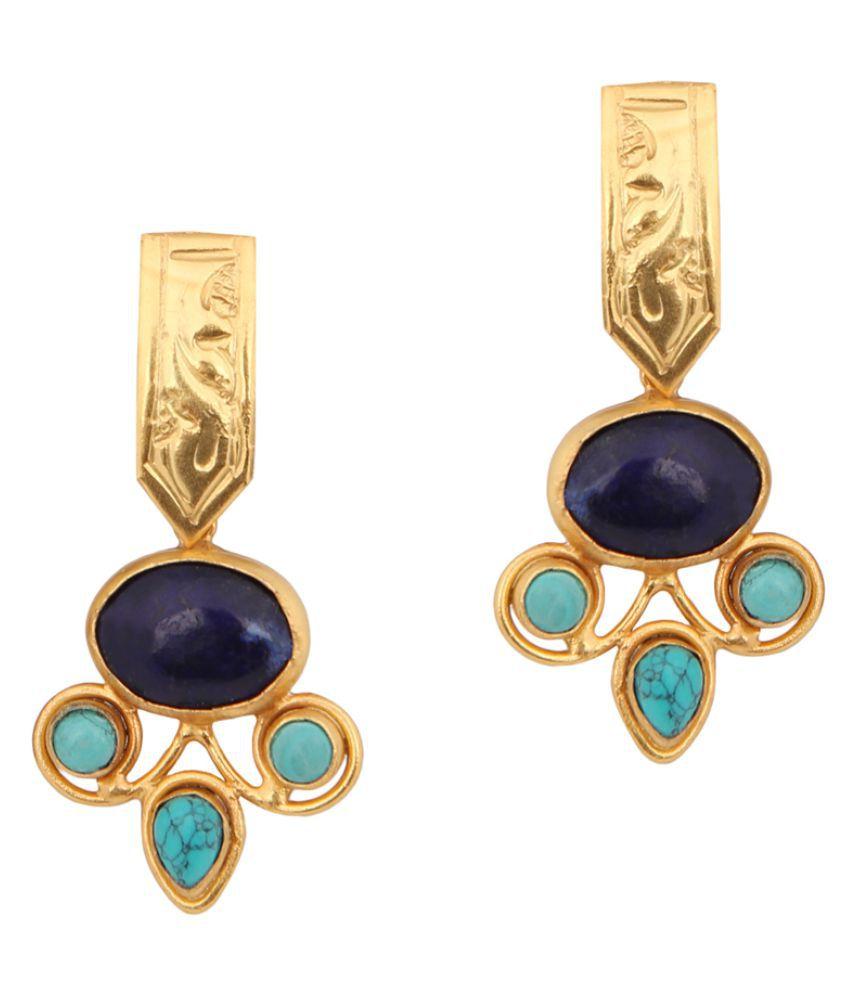 Nyaara Multicolor Hanging Earrings