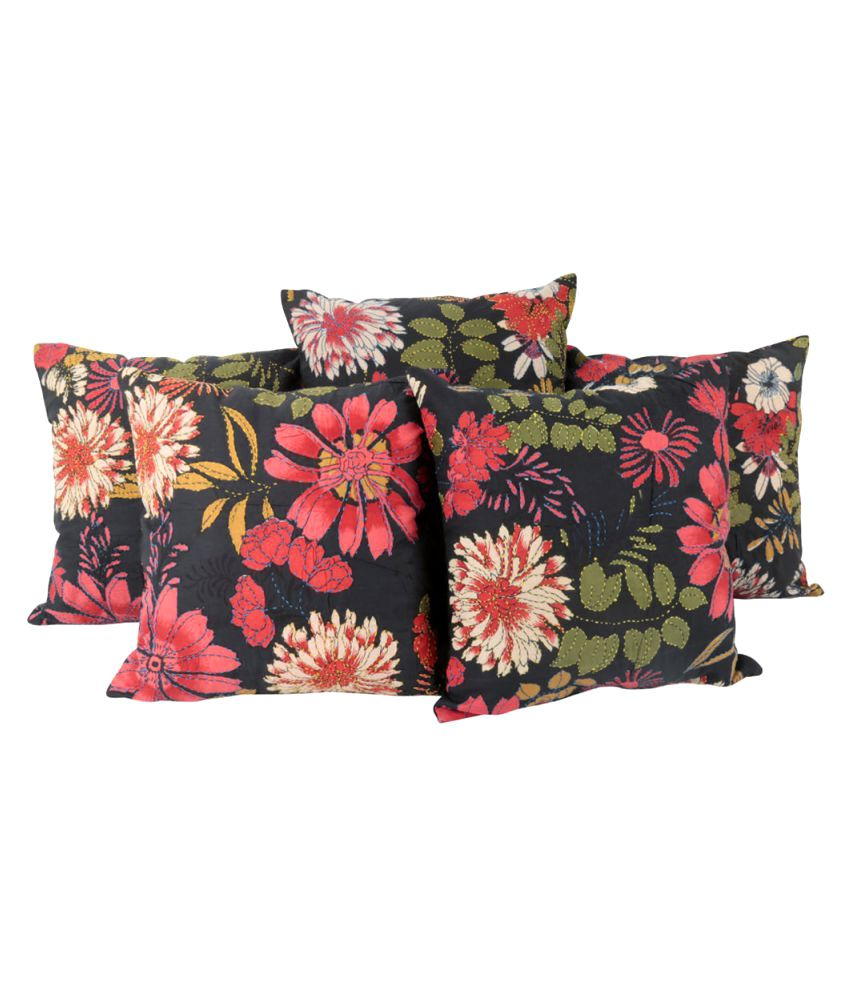 Rajrang Set of 5 Cotton Cushion Covers