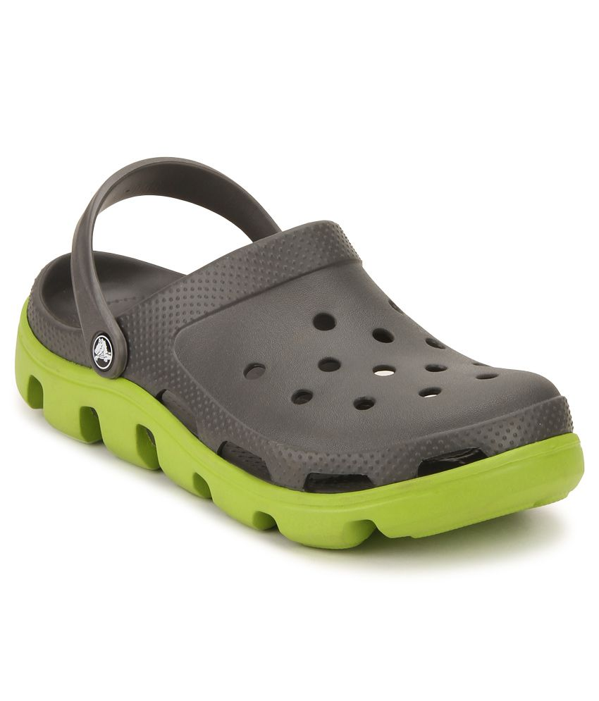 1a3184465 Crocs 11991-0A1 Gray Floater Sandals - Buy Crocs 11991-0A1 Gray Floater  Sandals Online at Best Prices in India on Snapdeal