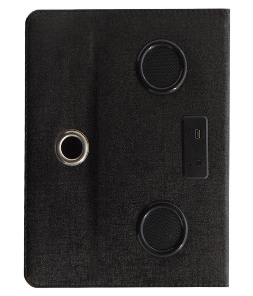 Datawind Ubislate 3G7Z Flip Cover By ACM Black