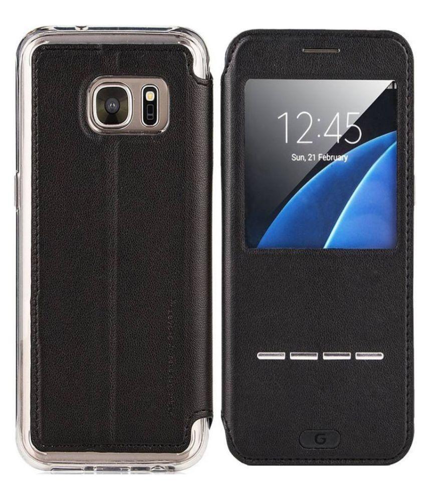 wholesale dealer b289a b6915 Samsung Galaxy S7 Flip Cover by G-Case - Black