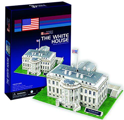 Cubicfun 65 Piece 3d Puzzle The White House Buy