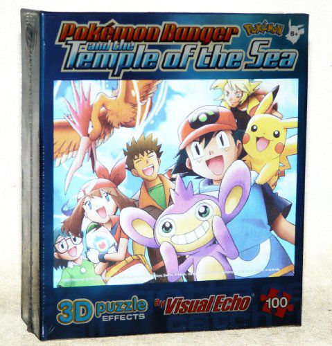 Visual Echo 100 Piece Pokemon Ranger And The Temple Of The Sea 3d