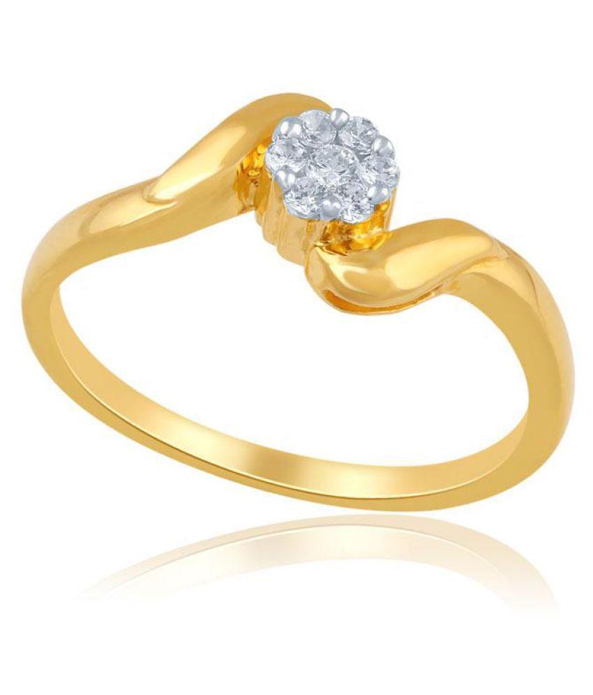 Nirvana 18k Yellow Gold Diamond Ring