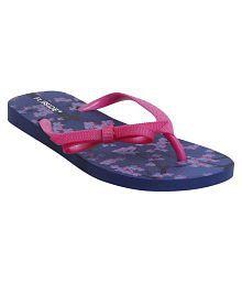 Flipside Womens Anne Purple Slippers