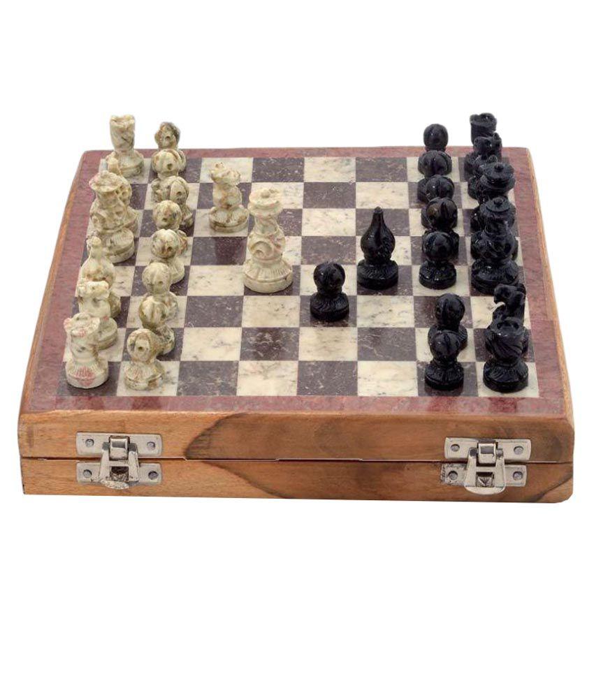 Ganpati Moorti Art Multicolour Chess