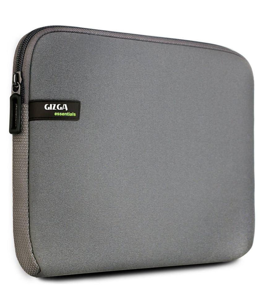 Gizga Essentials Grey Laptop Sleeves