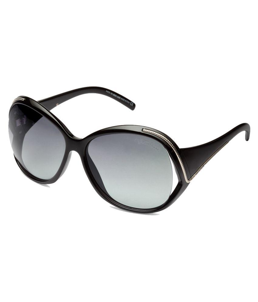 Roberto Cavalli Grey Oversized Sunglasses ( )